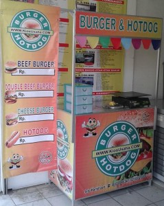 franchise burger murah