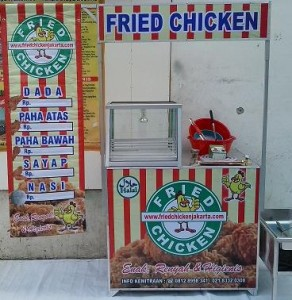 Franchise ayam fried chicken