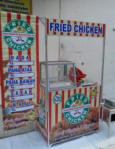modal franchise fried chicken